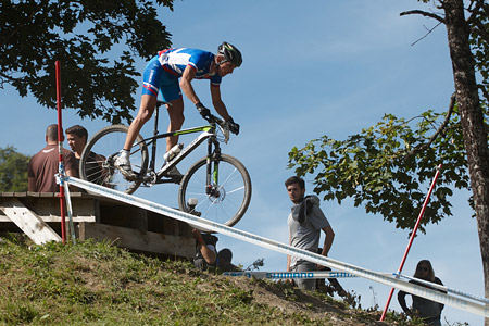 Martin Haring at UCI World Cup XCO / XCE / DHI 7 - Méribel (2014)