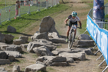 Martin Loo at UCI World Cup XCO / XCE / DHI 7 - Méribel (2014)