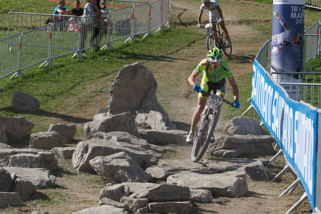 Martino Fruet at UCI World Cup XCO / XCE / DHI 7 - Méribel (2014)