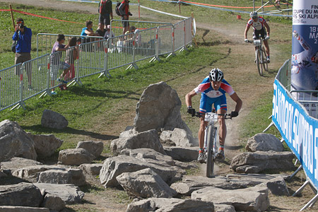 Michal Lami at UCI World Cup XCO / XCE / DHI 7 - Méribel (2014)