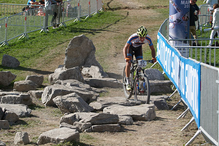 Michele Casagrande at UCI World Cup XCO / XCE / DHI 7 - Méribel (2014)
