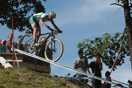 Mirko Tabacchi at UCI World Cup XCO / XCE / DHI 7 - Méribel (2014)