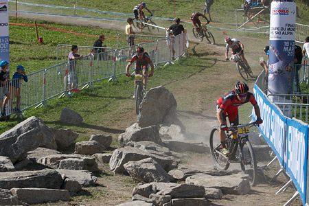 Moritz Milatz at UCI World Cup XCO / XCE / DHI 7 - Méribel (2014)