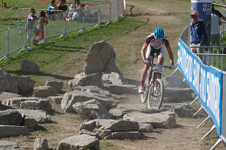 Nicola Rohrbach at UCI World Cup XCO / XCE / DHI 7 - Méribel (2014)