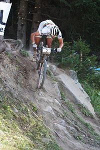 Nino Schurter at UCI World Cup XCO / XCE / DHI 7 - Méribel (2014)