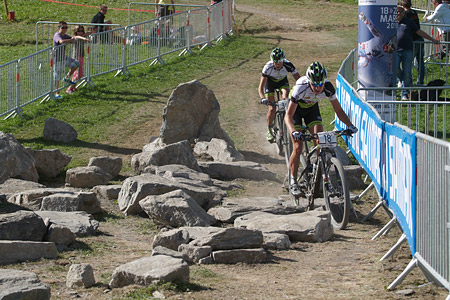 Ondrej Cink at UCI World Cup XCO / XCE / DHI 7 - Méribel (2014)