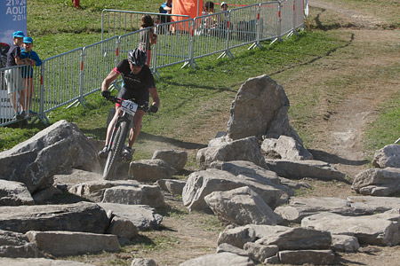 Pierre-Geoffroy Plantet at UCI World Cup XCO / XCE / DHI 7 - Méribel (2014)