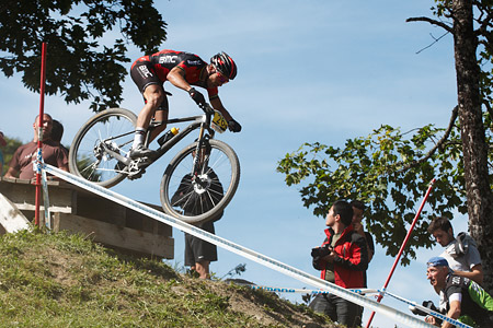 Ralph Näf at UCI World Cup XCO / XCE / DHI 7 - Méribel (2014)