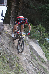 Reto Indergand at UCI World Cup XCO / XCE / DHI 7 - Méribel (2014)