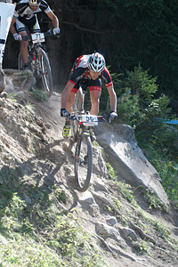 Robby De Bock at UCI World Cup XCO / XCE / DHI 7 - Méribel (2014)