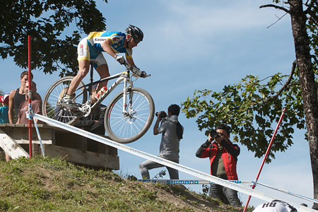 Sergji Rysenko at UCI World Cup XCO / XCE / DHI 7 - Méribel (2014)