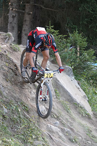 Stephen Ettinger at UCI World Cup XCO / XCE / DHI 7 - Méribel (2014)