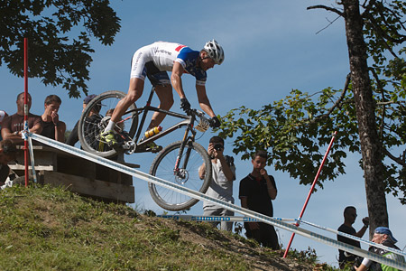 Tomas Tvrdik at UCI World Cup XCO / XCE / DHI 7 - Méribel (2014)
