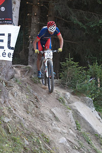 Zsolt Juhasz at UCI World Cup XCO / XCE / DHI 7 - Méribel (2014)