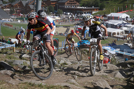 Bart De Vocht at UCI World Cup XCO / XCE / DHI 7 - Méribel (2014)