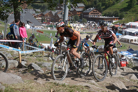 Max Foidl at UCI World Cup XCO / XCE / DHI 7 - Méribel (2014)