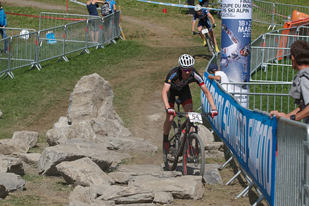 Alexandre Vialle at UCI World Cup XCO / XCE / DHI 7 - Méribel (2014)