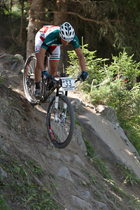 Andrea Righettini at UCI World Cup XCO / XCE / DHI 7 - Méribel (2014)
