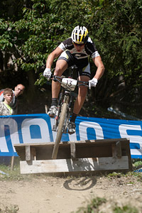 Andri Frischknecht at UCI World Cup XCO / XCE / DHI 7 - Méribel (2014)