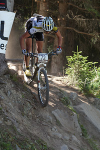 Antoine Bouqueret at UCI World Cup XCO / XCE / DHI 7 - Méribel (2014)