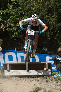 Ben Zwiehoff at UCI World Cup XCO / XCE / DHI 7 - Méribel (2014)