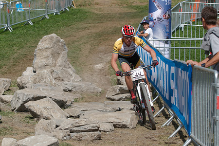 Cameron Ivory at UCI World Cup XCO / XCE / DHI 7 - Méribel (2014)