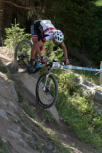 Denis Fumarola at UCI World Cup XCO / XCE / DHI 7 - Méribel (2014)