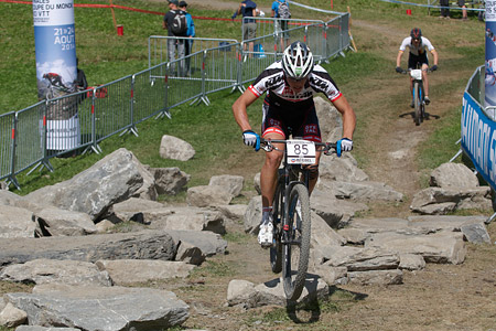 Fabian Costa at UCI World Cup XCO / XCE / DHI 7 - Méribel (2014)