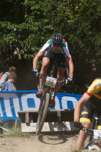 Fabian Paumann at UCI World Cup XCO / XCE / DHI 7 - Méribel (2014)
