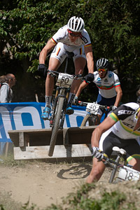 Georg Egger at UCI World Cup XCO / XCE / DHI 7 - Méribel (2014)