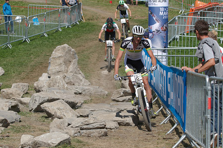 Gert Heyns at UCI World Cup XCO / XCE / DHI 7 - Méribel (2014)