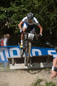 Gonçalo Duarte Basilio Amado at UCI World Cup XCO / XCE / DHI 7 - Méribel (2014)