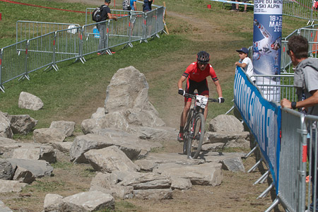 Howard Grotts at UCI World Cup XCO / XCE / DHI 7 - Méribel (2014)