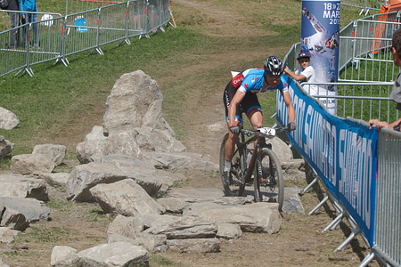 Jeremy Martin at UCI World Cup XCO / XCE / DHI 7 - Méribel (2014)