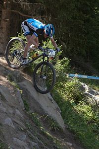 Jesper Slik at UCI World Cup XCO / XCE / DHI 7 - Méribel (2014)