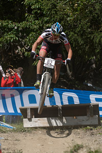 Jodok Salzmann at UCI World Cup XCO / XCE / DHI 7 - Méribel (2014)