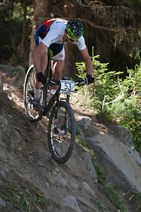 José Pedro Dias at UCI World Cup XCO / XCE / DHI 7 - Méribel (2014)