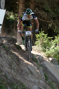 Julian Schelb at UCI World Cup XCO / XCE / DHI 7 - Méribel (2014)