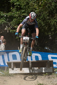 Kevin Panhuyzen at UCI World Cup XCO / XCE / DHI 7 - Méribel (2014)