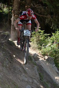 Kjell Van Den Boogert at UCI World Cup XCO / XCE / DHI 7 - Méribel (2014)