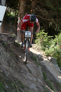 Lars Forster at UCI World Cup XCO / XCE / DHI 7 - Méribel (2014)