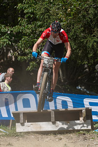 Leandre Bouchard at UCI World Cup XCO / XCE / DHI 7 - Méribel (2014)