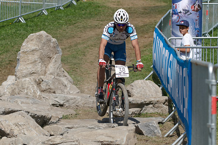 Luis Rojas at UCI World Cup XCO / XCE / DHI 7 - Méribel (2014)