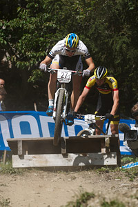 Martin Frey at UCI World Cup XCO / XCE / DHI 7 - Méribel (2014)