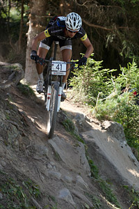 Marvin Gruget at UCI World Cup XCO / XCE / DHI 7 - Méribel (2014)