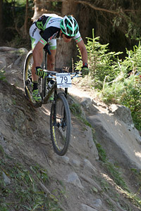 Mattia Setti at UCI World Cup XCO / XCE / DHI 7 - Méribel (2014)