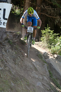 Maximilian Vieider at UCI World Cup XCO / XCE / DHI 7 - Méribel (2014)