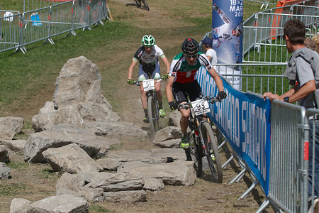 Michael Stünzi at UCI World Cup XCO / XCE / DHI 7 - Méribel (2014)
