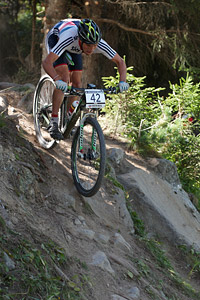 Michael Thompson at UCI World Cup XCO / XCE / DHI 7 - Méribel (2014)