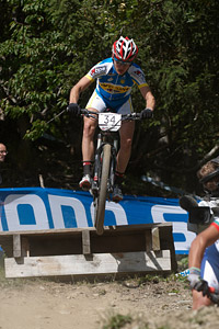 Oleksiy Zavolokin at UCI World Cup XCO / XCE / DHI 7 - Méribel (2014)